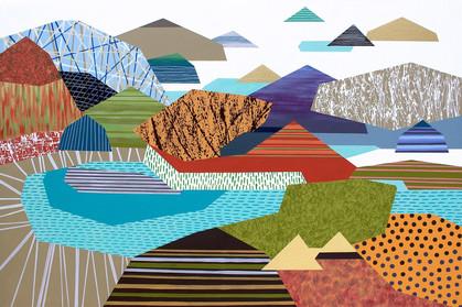Osobní krajina 20 / My Personal Landscape 20 / 100x150 cm