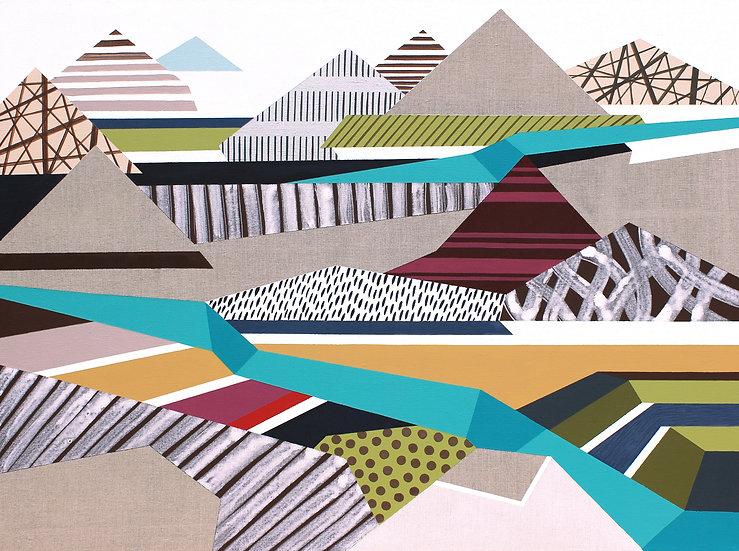 Osobní krajina 29 / My Personal Landscape 29 / 90x120 cm