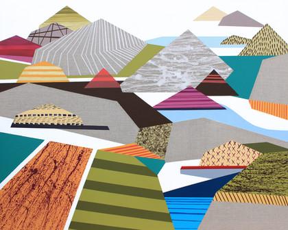 Osobní krajina 24 / My Personal Landscape 24 / 105x130 cm