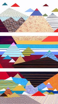 Osobní krajina 13 / My Personal Landscape 13 / 110x180 cm