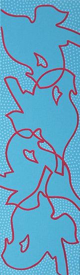 Kontemplace 7 / Contemplation 7 / 30x100 cm