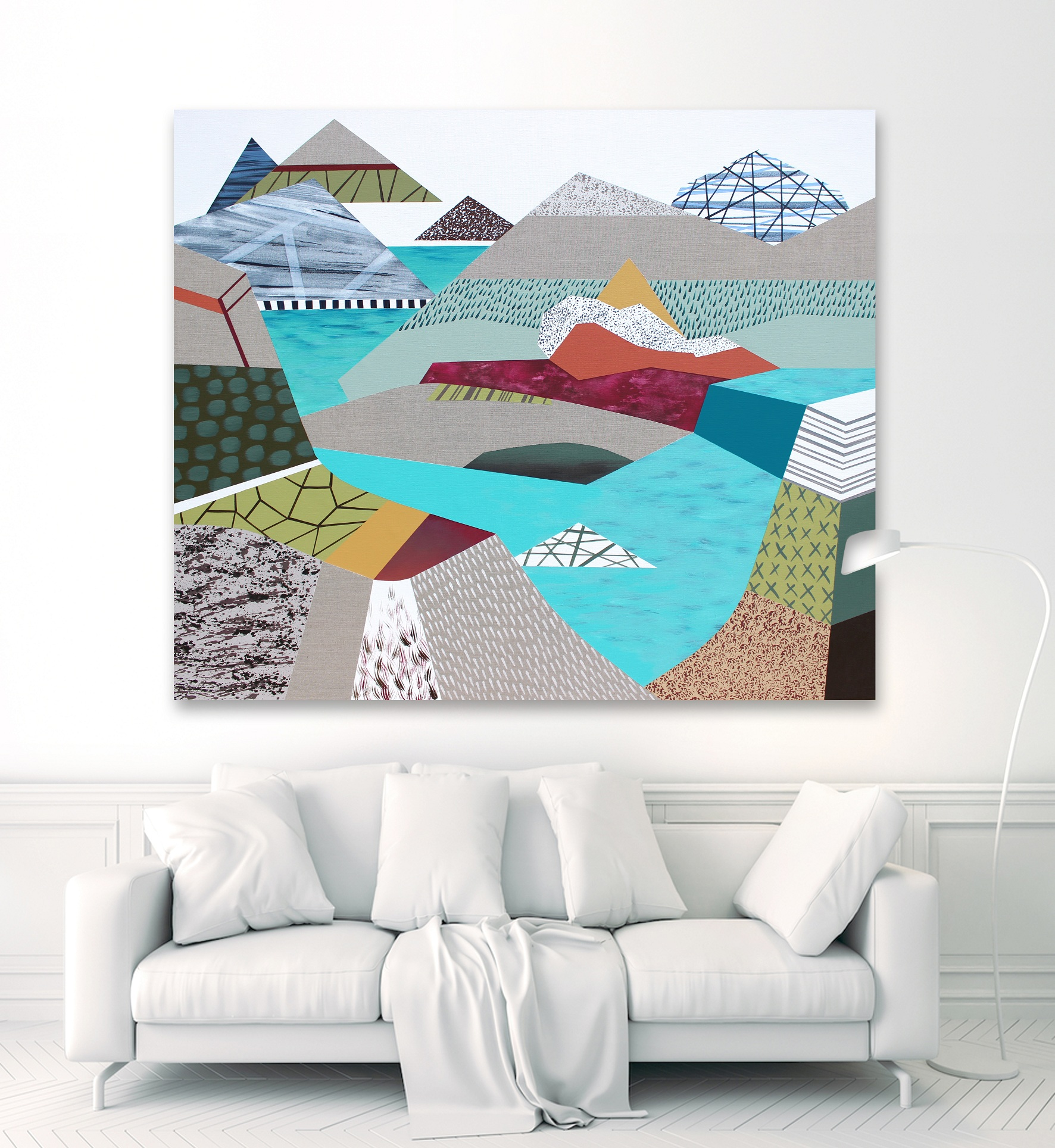 My Personal Landscape 31,2019,110x130cm