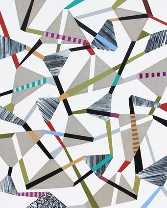 Hra & rozmanitost 15 / Play & Diversity 15 / 105x130 cm