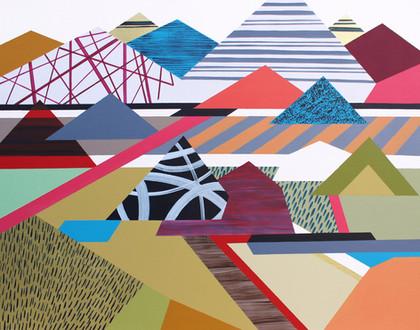 Osobní krajina 26 / My Personal Landscape 26 / 70x90 cm