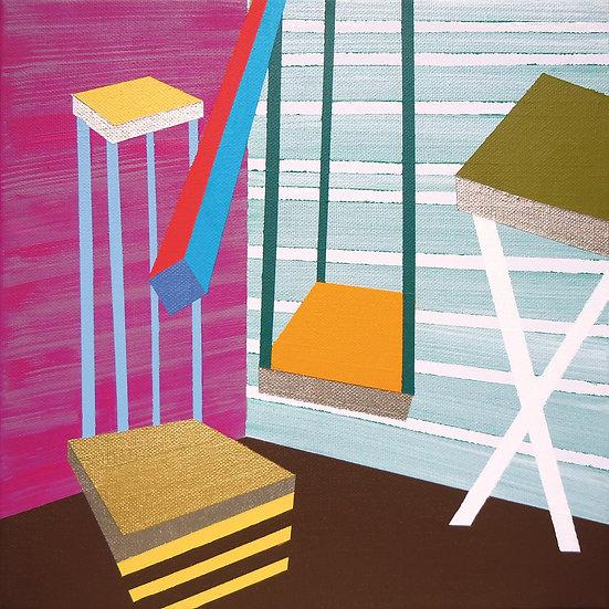 Osobní prostor 1 / My Personal Space 1 / 30x30 cm