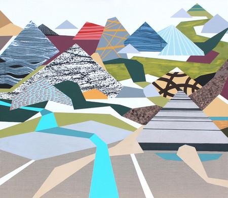Osobní krajina 23 / My Personal Landscape 23 / 115x130 cm
