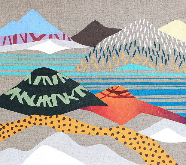 V horách 14 / In the Mountains 14 / 40x45 cm