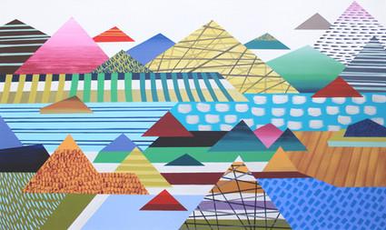 Osobní krajina 17 / My Personal Landscape 17 / 60x100 cm