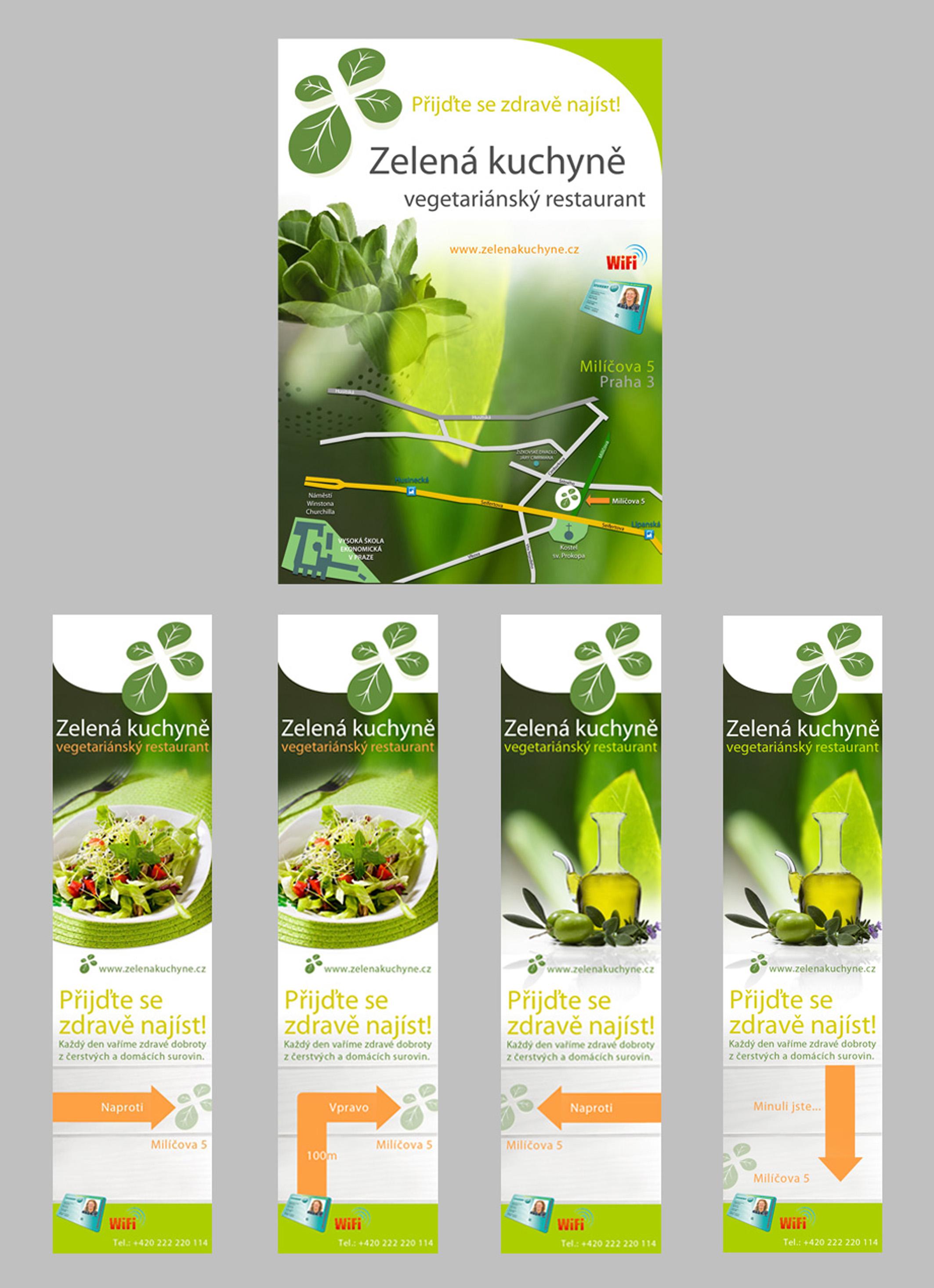Leaflet + Banner Zelena kuchyne