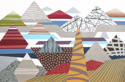 Osobní krajina 28 / My Personal Landscape 28 / 90x140 cm