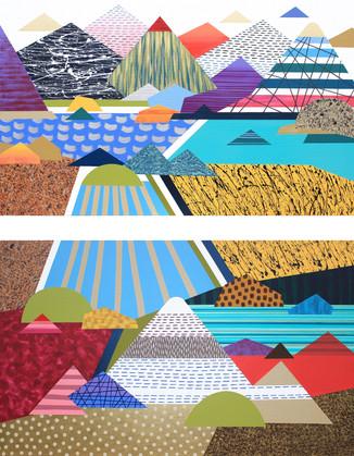 Osobní krajina 18 / My Personal Landscape 18 / 140x180 cm