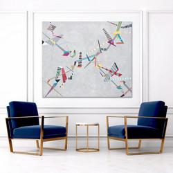 Diagonal Composition 4,2021,110x130cm