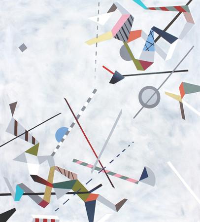 Diagonální kompozice 1 / Diagonal Composition 1 / 90x100cm