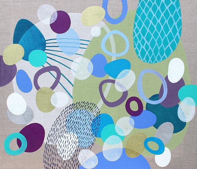 Tvořeno vzpomínkami 2 / Made of My Memories 2 / 60x70 cm