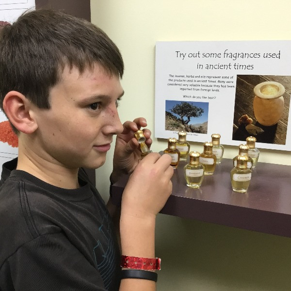 Trying out Fragrances used in Bible Times - Interactive