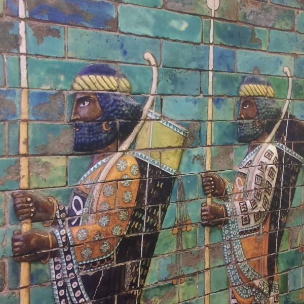Persian Soldiers Image - Time of Esther