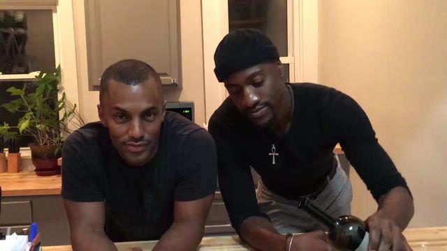 Darryl and Sampson Talk About Black Alphabet at Cincinnati Black Pride.