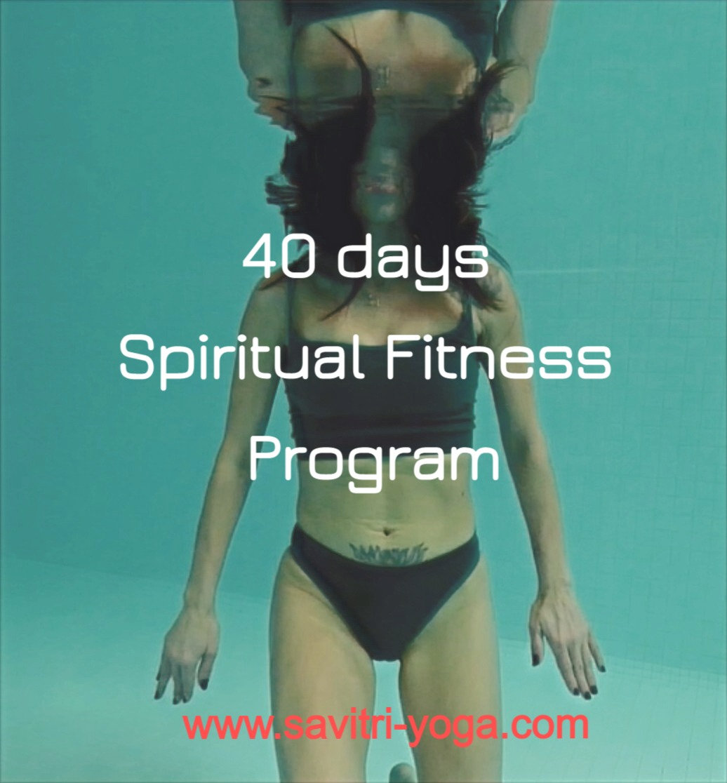 Online  40 Days Spiritual Fitness