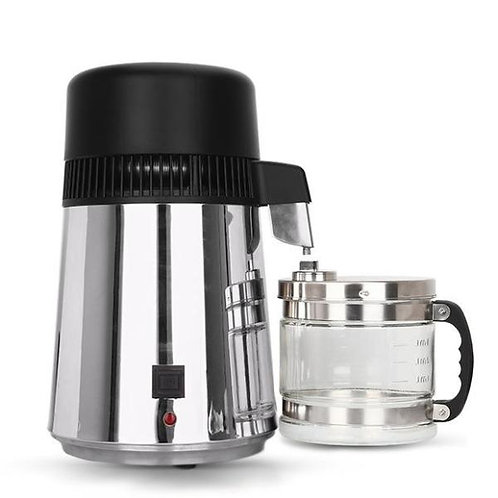 Stainless Steel Water Distiller With Glass Carafe - Free Shipping