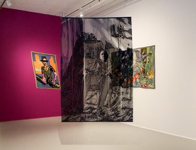 Queer Threads exhibition, 2016, Boston Center for the Arts