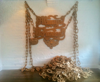 ReMixed Messages exhibition, 2012, Transformer Gallery - DC