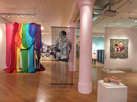 Queer Threads exhibition, 2014, Leslie-Lohmam Museum of Gay and Lesbian Art - NYC