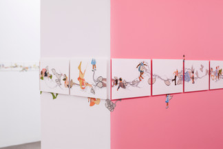 Catalina Schliebener: Growing Sideways exhibition, 2017, HACHE Galeria - Buenos Aires