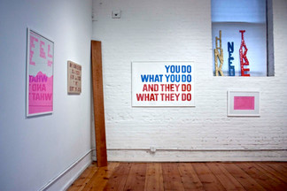 Mixed Messages exhibition, 2011, LaMaMa la Galleria - NYC