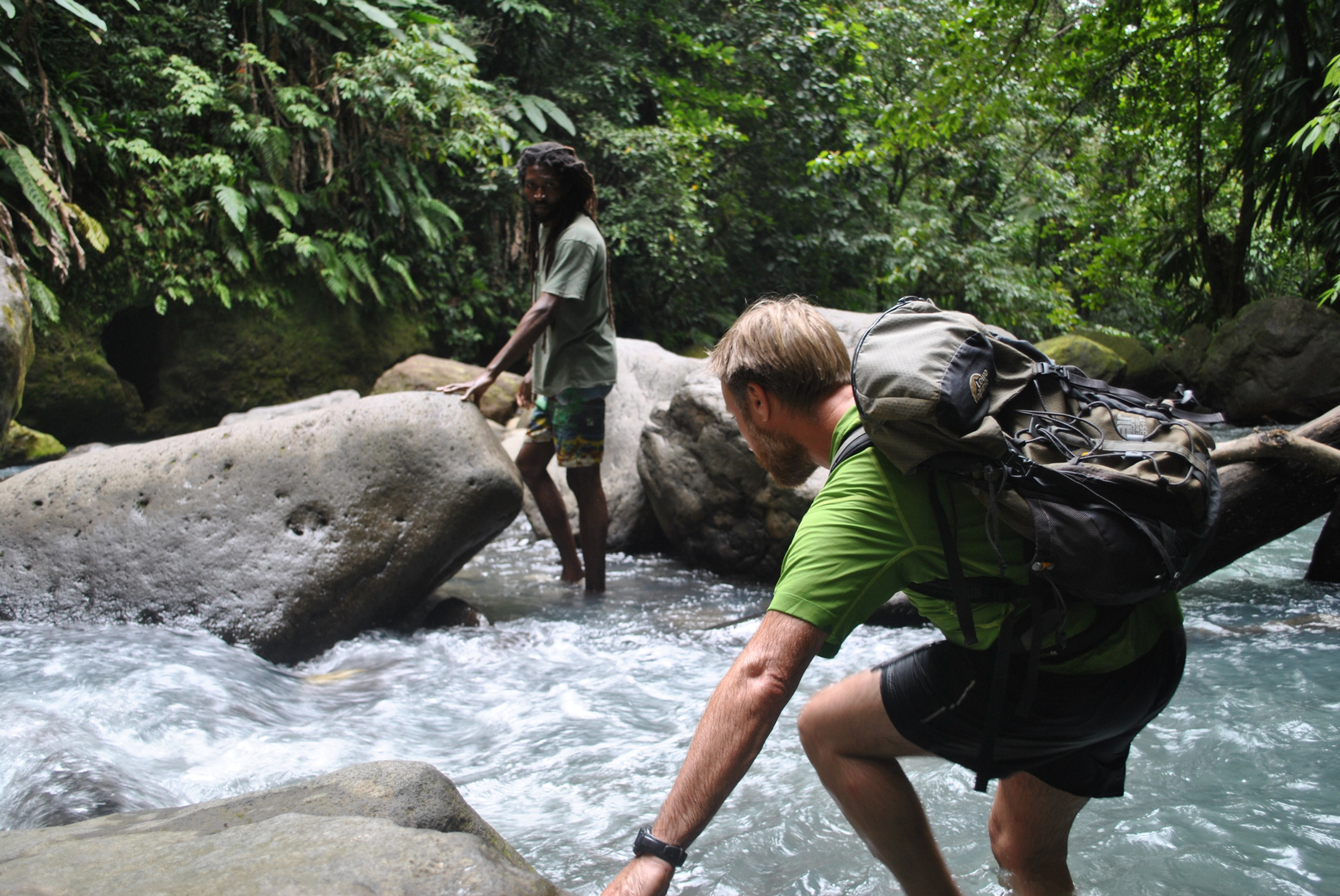 Wet and Rugged Dominica