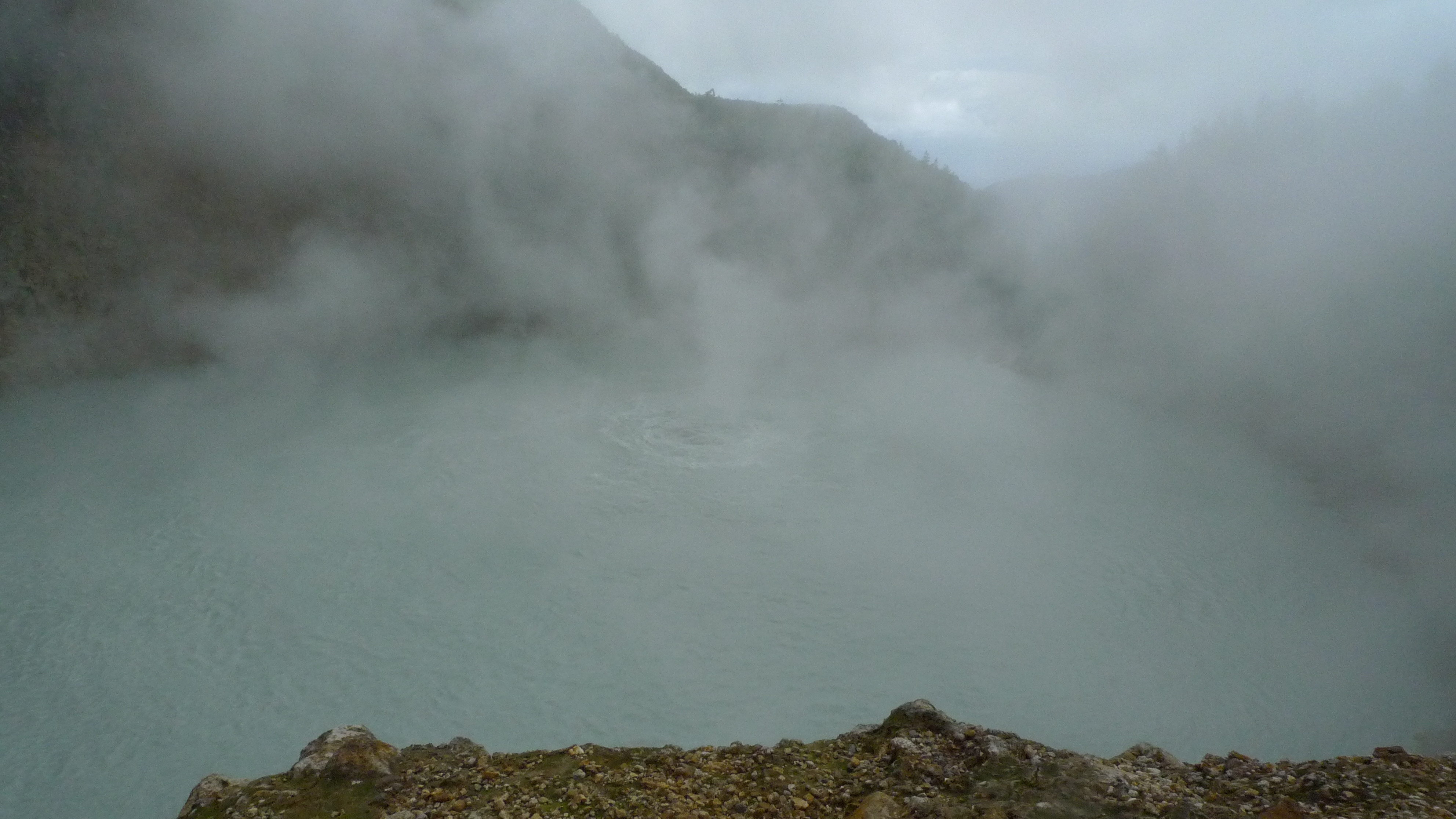 The Boiling Lake and Titou Gorge