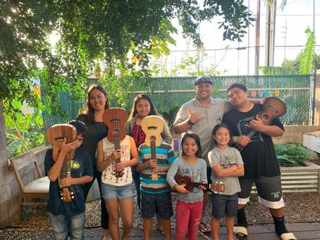 'Ukulele Project Hawai'i: Making The World A Better Place, One 'Ukulele At A Time.