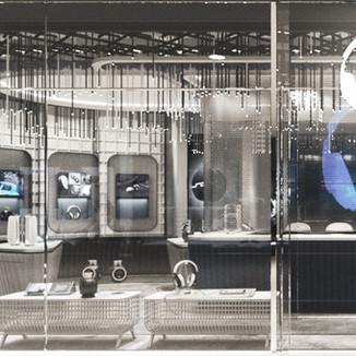 Earphone Retail Store Concept