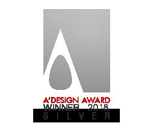 A'DESIGN AWARDS 2018 SILVER
