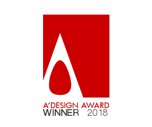 A'DESIGN AWARD WINNER 2018