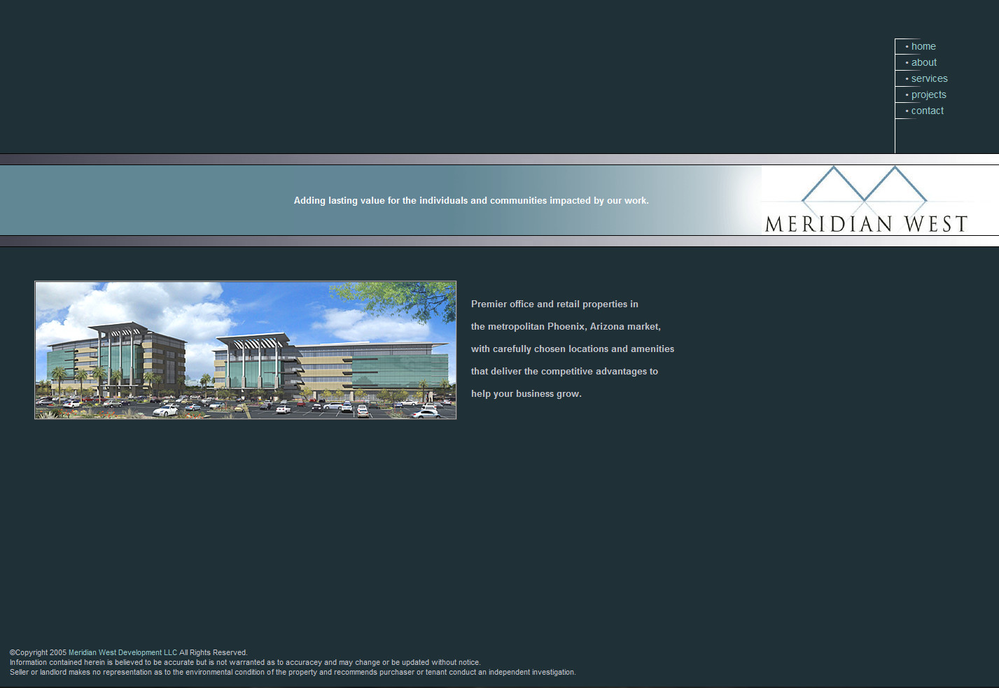 Meridian West Development