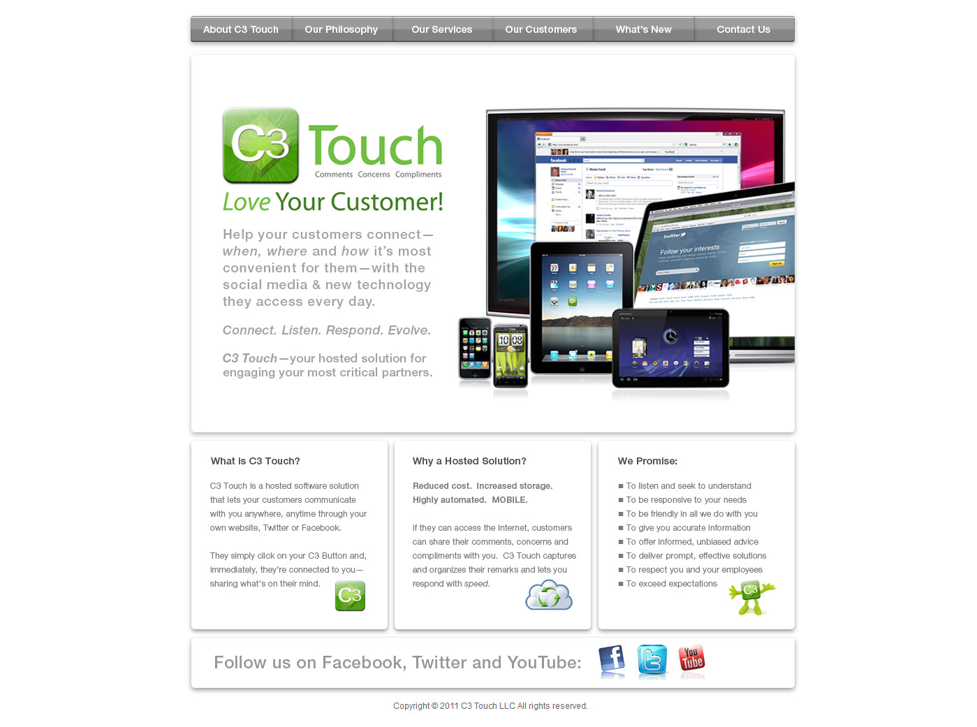 C3 Touch Software