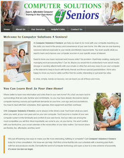 Computer Solutions for Seniors