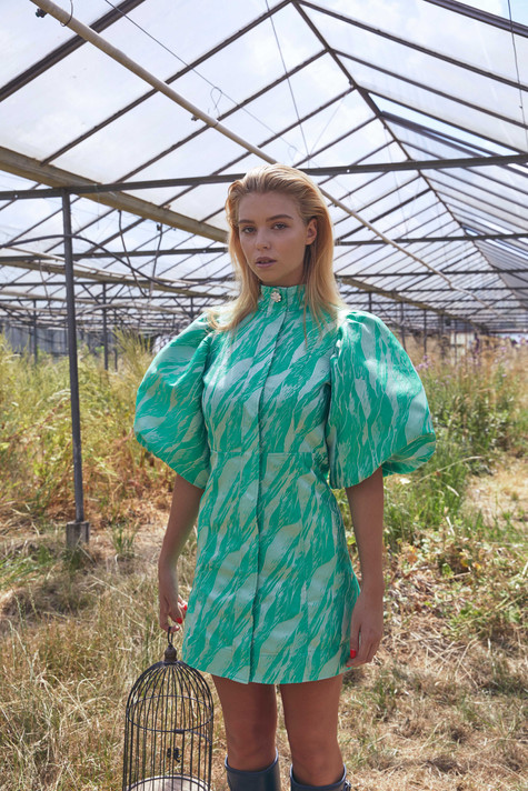 Lea in Greenhouse