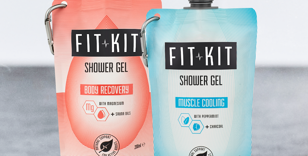 Shower Duo: Body Recovery + Muscle Cooling