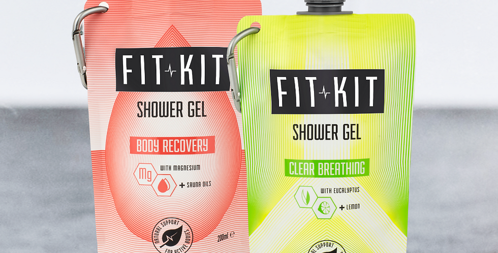 Shower Duo: Body Recovery + Clear Breathing