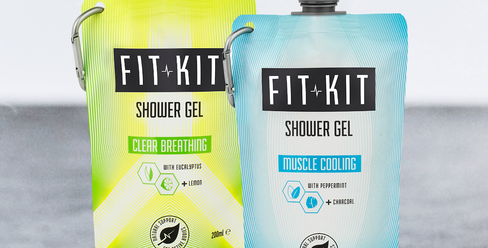 Shower Duo: Clear Breathing + Muscle Cooling