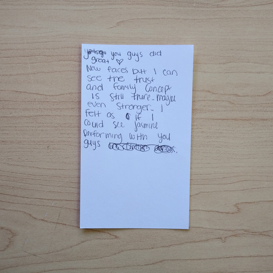 Anonymous Notecard 21