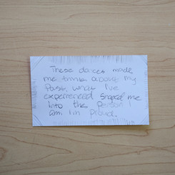 Anonymous Notecard 1