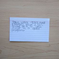 Anonymous Notecard 27