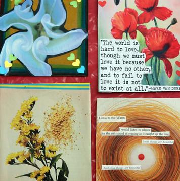 Finished Postcards