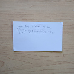 Anonymous Notecard 23