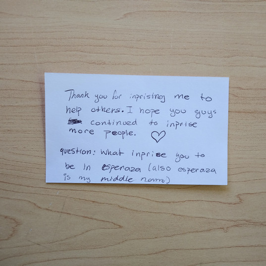 Anonymous Notecard 3