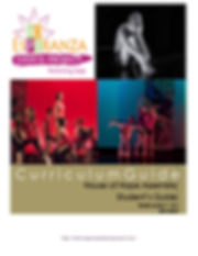 Esperanza Dance Project Student's Curriculum Guide page 1 - Cover