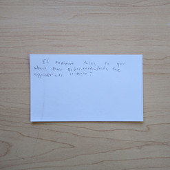 Anonymous Notecard 36