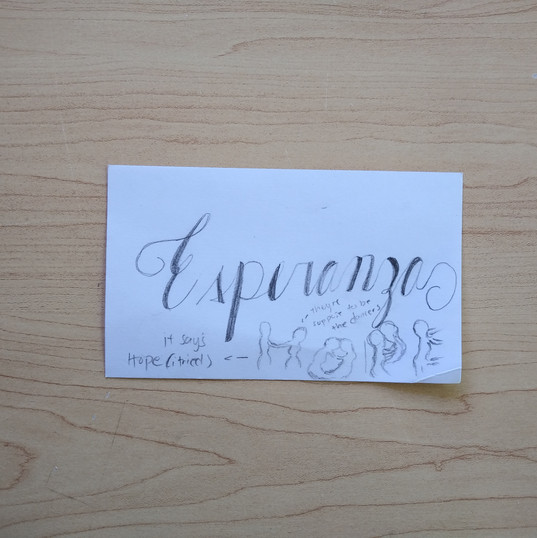 Anonymous Notecard 33